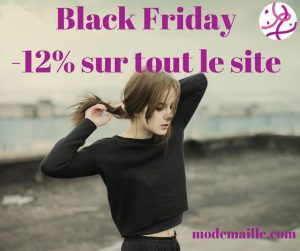 Black Friday: réduction sur tout le site